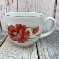 Royal Worcester Poppies Tea Cup