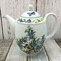 Royal Worcester, Worcester Herbs  Coffee Pot (Made in England)