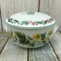 Royal Worcester, Worcester Herbs  Lidded Serving Dish, 1.75 Pints (Made in England)
