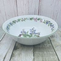 """Royal Worcester, Worcester Herbs  Open Serving Bowl, 10"""" (Made in England)"""