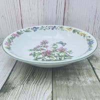 """Royal Worcester, Worcester Herbs Wide Bowl, 8"""" (Made in England)"""