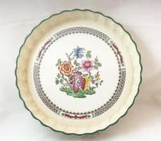 Spode Chinese Rose Flan Dishes