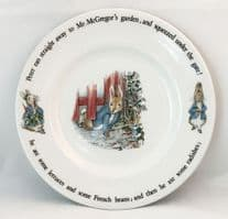 Wedgwood, Beatrix Potter, Peter Rabbit Breakfast Plates