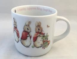 Wedgwood, Beatrix Potter, Peter Rabbit Cups/Mug. Flopsy, Mopsy and Cotton Tail.