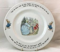 Wedgwood, Beatrix Potter, Peter Rabbit Dinner Plates