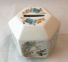 Wedgwood, Beatrix Potter, Peter Rabbit Money Boxes