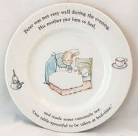 Wedgwood, Beatrix Potter, Peter Rabbit Tea Plates