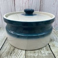 Wedgwood Blue Pacific Lidded Serving Dish, 3 Pints