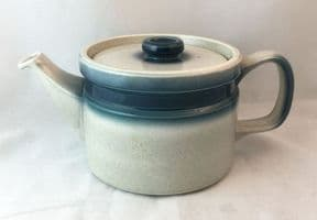 Wedgwood Blue Pacific Teapots, 1.75 Pints