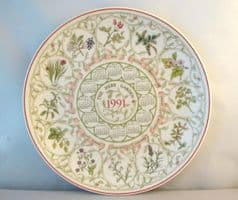 Wedgwood Decorative Herb Garden Plate from the Country Gardens Series.