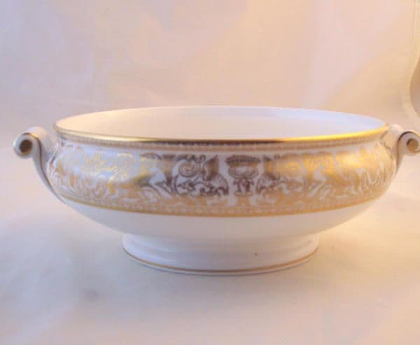 Wedgwood Gold Florentine (W4219) Vegetable Tureen Base Only