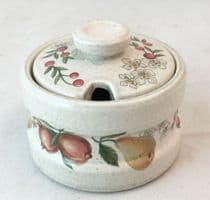 Wedgwood Quince Mustard Pots