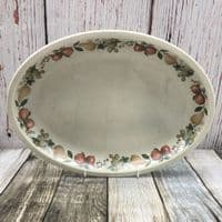 """Wedgwood Quince Oval Platter, 13.25"""""""