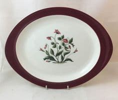 Wedgwood Ruby Mayfield Oval Serving Platters