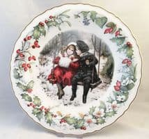 Wedgwood Victoria and Albert Museum 1989  Christmas Plate