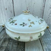 Wedgwood Wild Strawberry Serving Tureen, 3 Pint