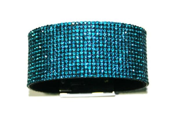 1.5mm diamante sheet - 25 chatons per square cm - blue ziron -- teel -- c4009010