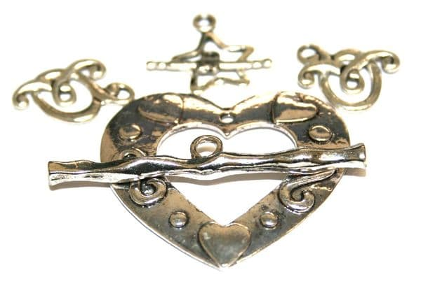 Antique Silver Clasps