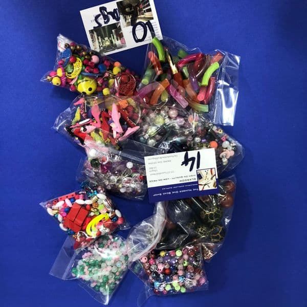 Deal 014 - 10 packs of mixed beads