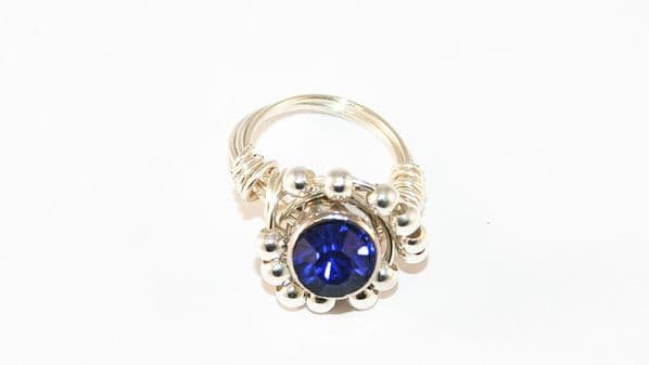 Wire wrap ring kit - 5 rings in 5 different colours