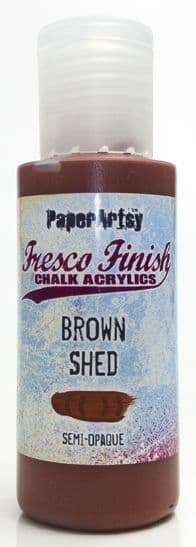 Fresco Finish - Brown Shed