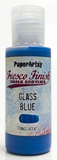 Fresco Finish - Glass Blue