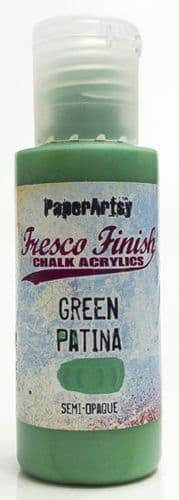 Fresco Finish - Green Patina {Seth Apter}