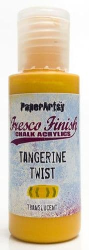 Fresco Finish - Tangerine Twist {Tracy Scott}