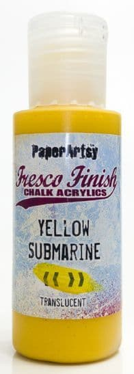 Fresco Finish - Yellow Submarine