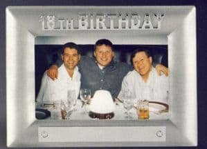 18th Birthday Photo Frame (Price includes engraving)