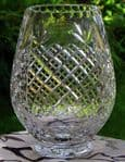 Ambassador vase with panel (Price includes Engraving}