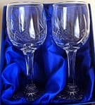Pair of Charlotte Wine Glasses in Presentation Box