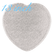 """13"""" Heart Drum !/2"""" thick"""