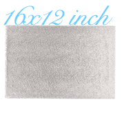 "16""X12""Rectangle -All thicknesses"