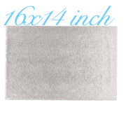 "16""X14"" Rectangle -All thicknesses"