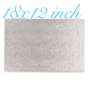 "18""X12"" Rectangle -All thicknesses"