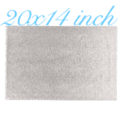 "20""X14"" Rectangle -All thicknesses"
