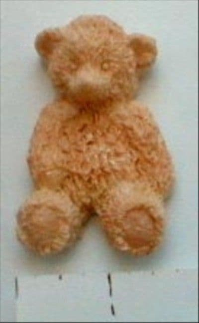 "3D Teddy Mould 3"" (Diamond Paste brand)"