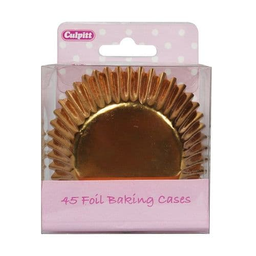 Culpitt Gold Foil Baking Cases