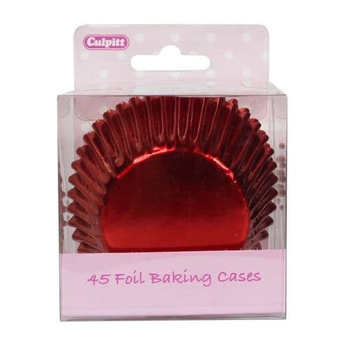 Culpitt Red Foil Baking Cases