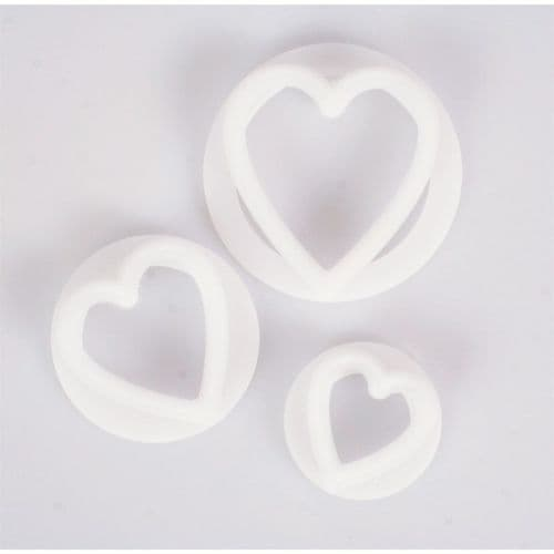 FMM 3 Set Hearts Cutters