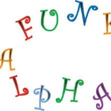 FMM Funky Alphabet & Numbers