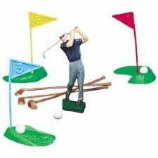 Golf Set - Plastic 13 piece. Great Cake topper, this is not a toy.