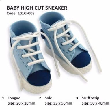 JEM Cutter Set High Cut Sneaker 6Pcs
