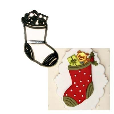 Patchwork Cutters/Embossers Christmas Stockings