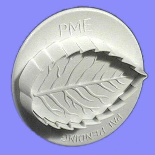 PME Plunger Rose Leaf small