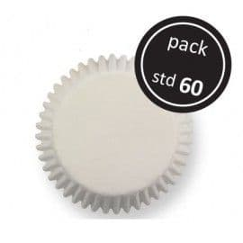 PME WHITE STANDARD BAKING CUPS STANDARD 60 PACK