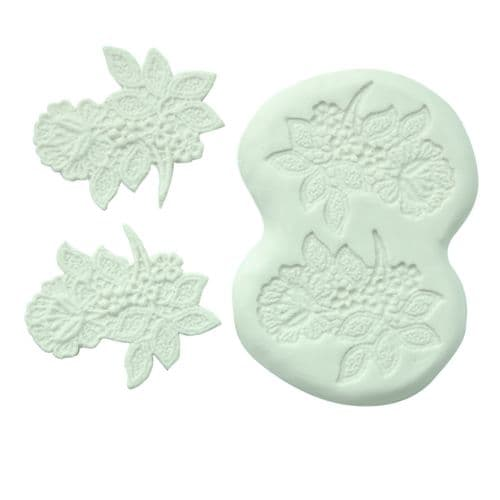 """SILICONE MOULD 3"""" FLOWER SPRAY"""
