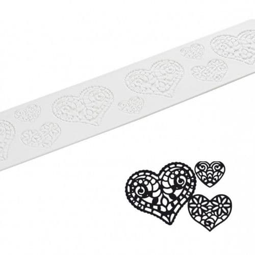 SWEET LACE MAT: HEART