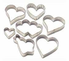 Wilton Valentine 7 Pc. Cutter Collection